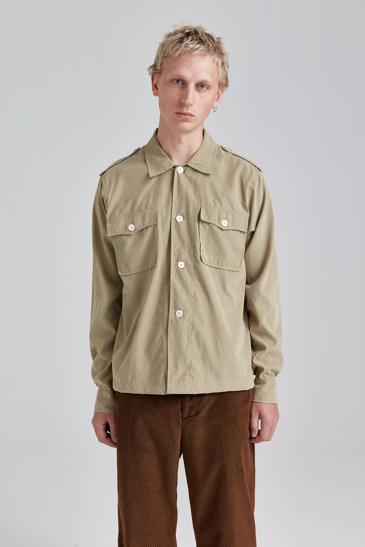 Casual Military Shirt