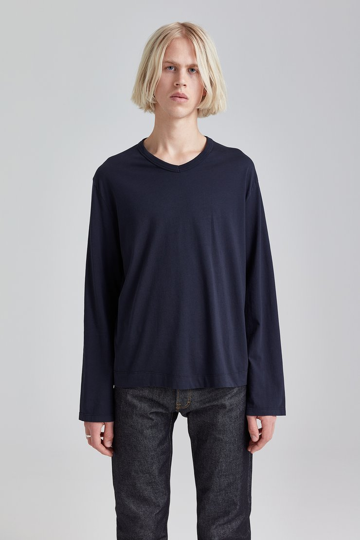 REGULAR V-NECK LONGSLEEVE
