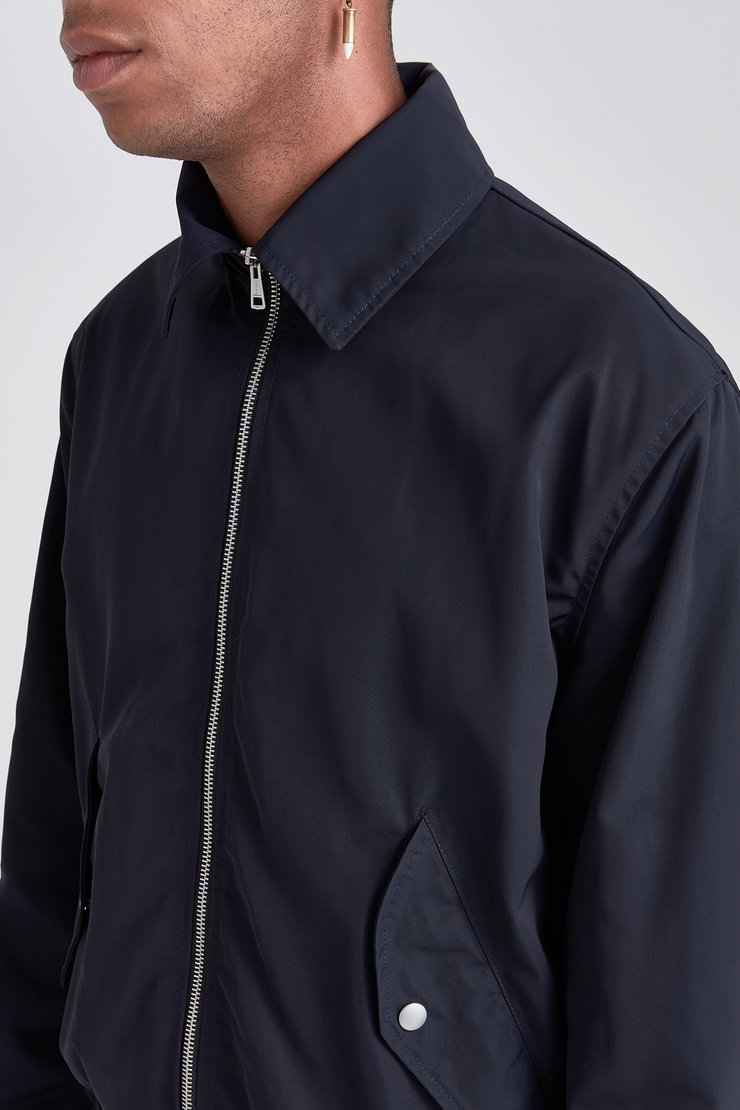 TECH HALF HARRINGTON JACKET