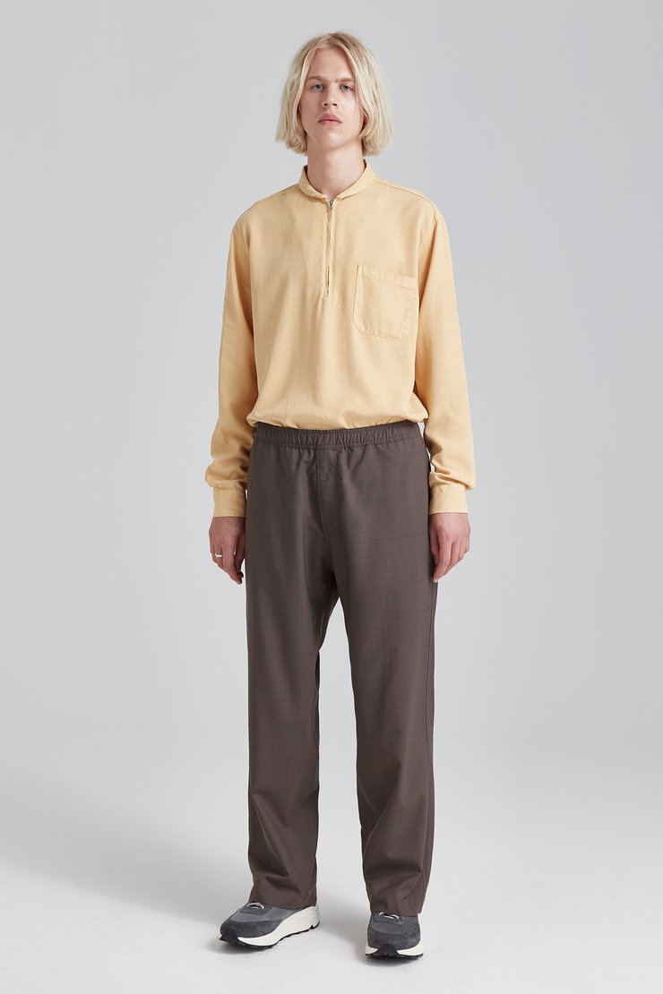 DRAPE REGULAR TROUSERS