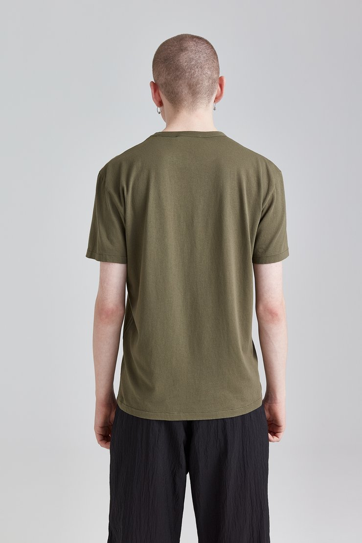 26e73de95 Perfect T-Shirt Olive Army Jersey - Our Legacy