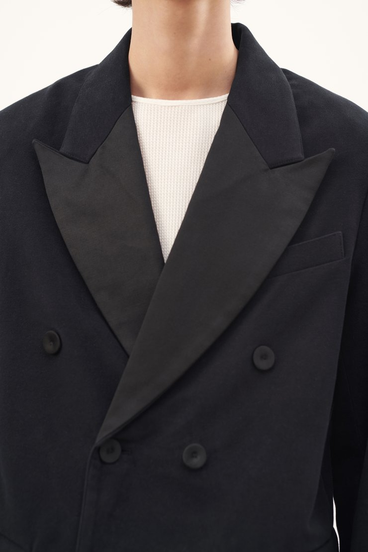 CROP SMOKING JACKET