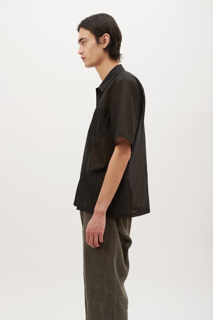 BOX SHIRT SHORT SLEEVE