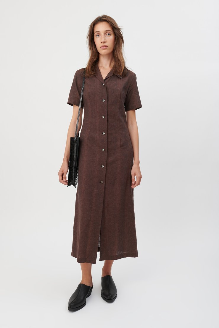 NARROW SHIRT DRESS