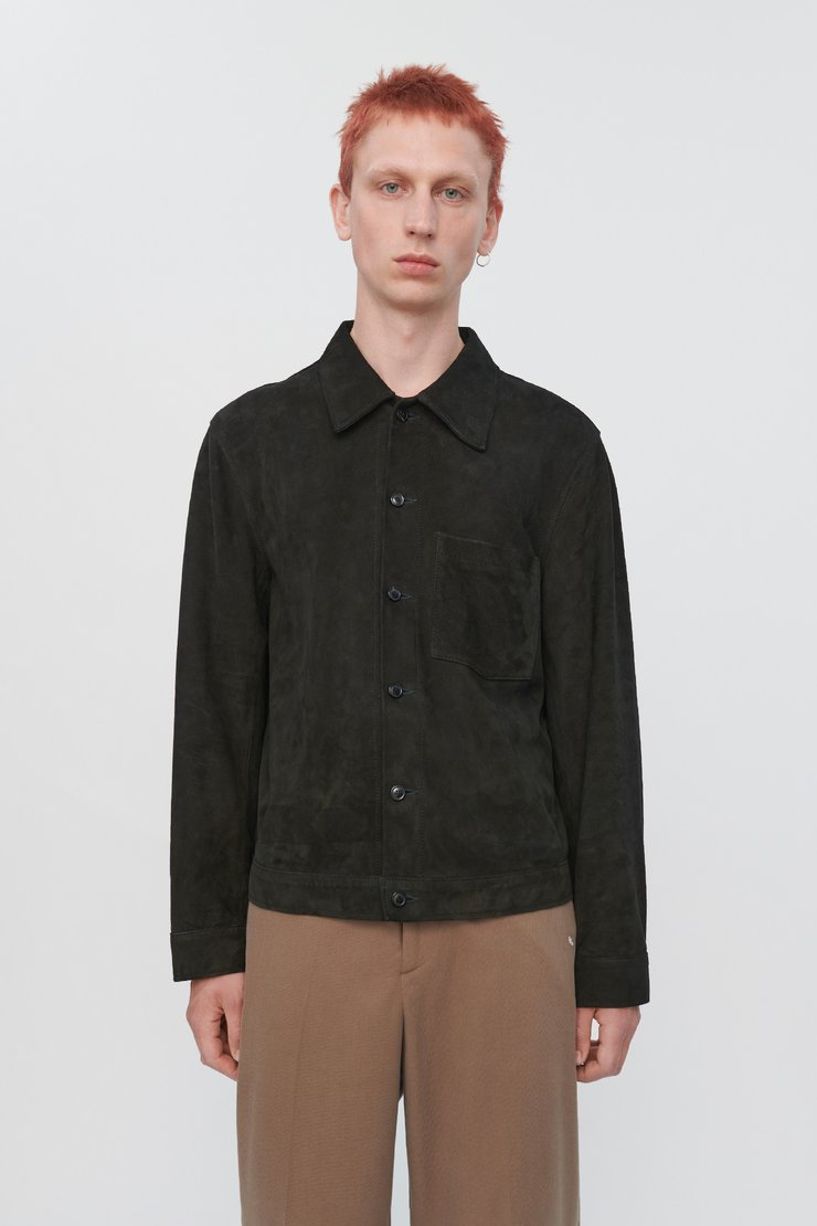 REINCARNATION SUEDE SHIRT