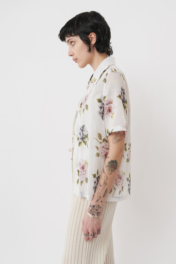 SQUARE SHIRT SHORTSLEEVE