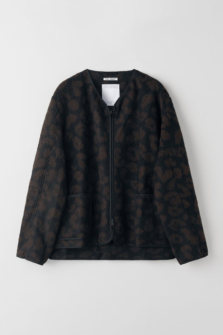 Liner Jacket Leopard Wool Our Legacy