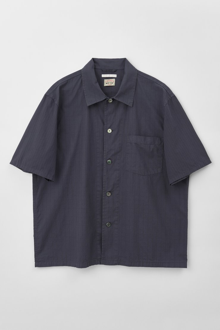 BOX SHIRT SHORTSLEEVE