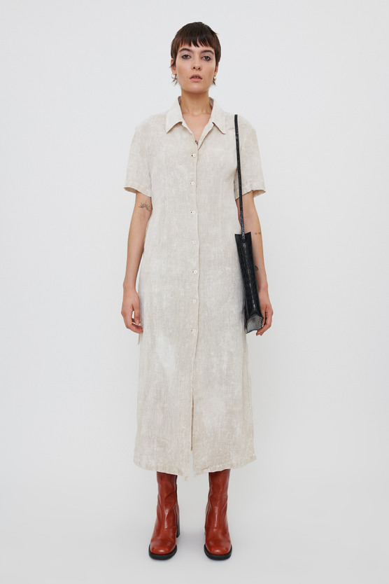NARROW SHIRT DRESS