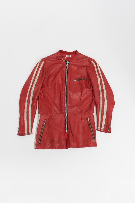 CHOPPED OVERALL JACKET